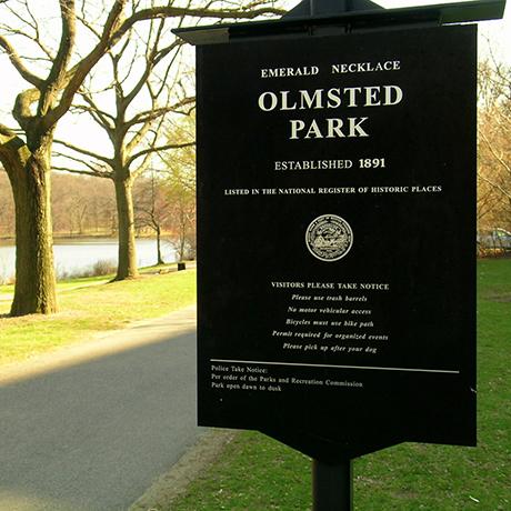 OlmstedParkSign-sq
