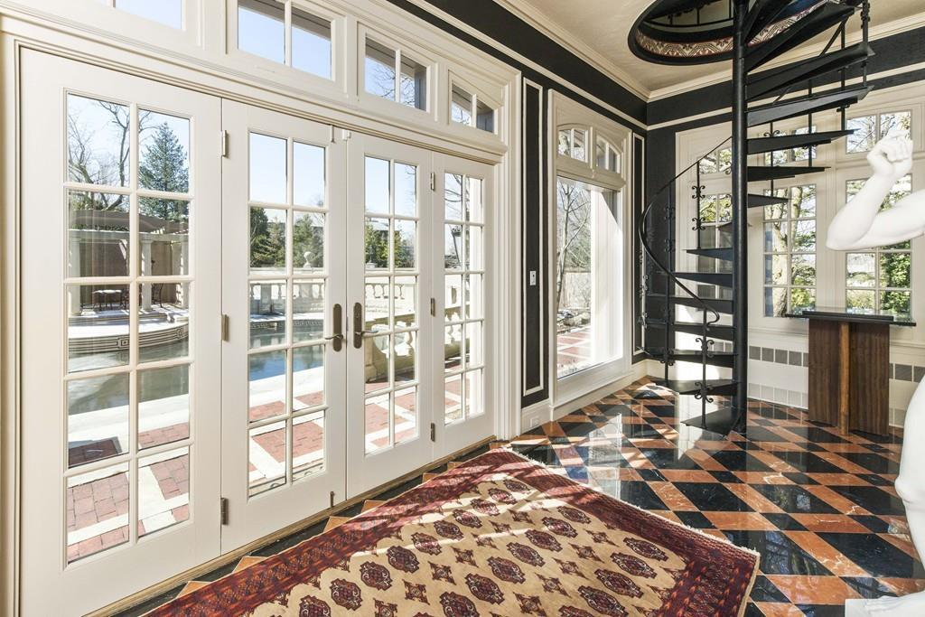 On The Market A Mediterranean Villa In Brookline Boston Magazine
