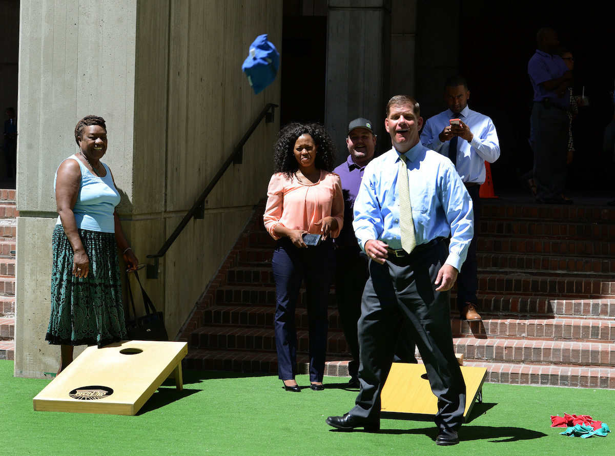 Photo via Mayor's Office/Isabel Leon