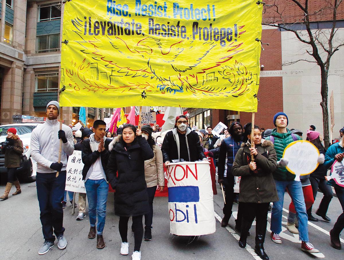 millennials protests
