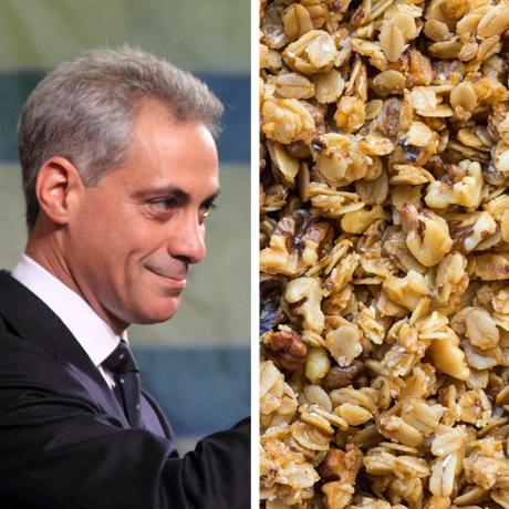 rahm warren granola sq