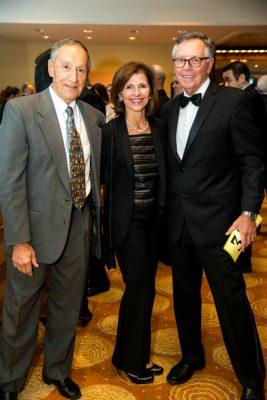 Jim Davis, Anne Davis and John Nash / Photo by Nathan Fried-Lipski