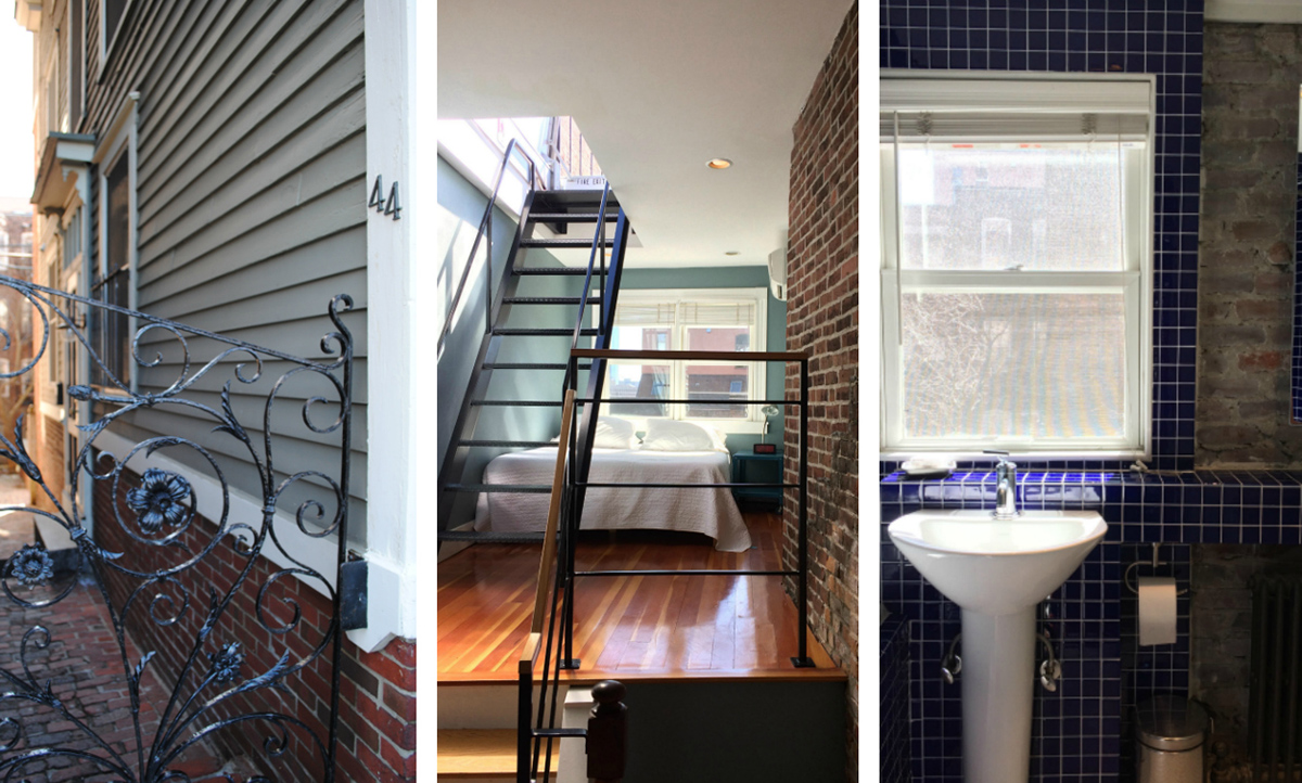 Inside Boston's Famously Skinny, Surprisingly Spacious