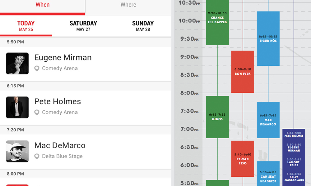 Boston Calling Schedule