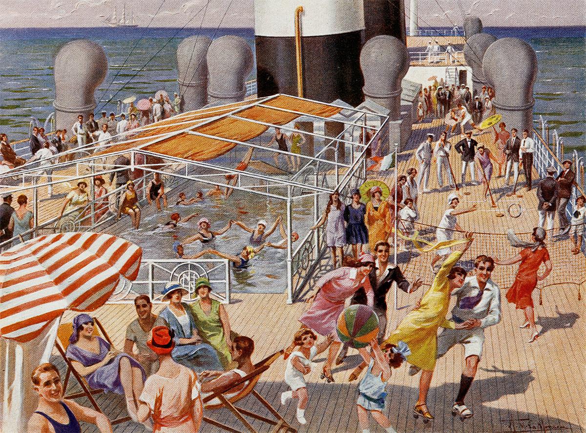Ocean Liners Peabody Essex Museum