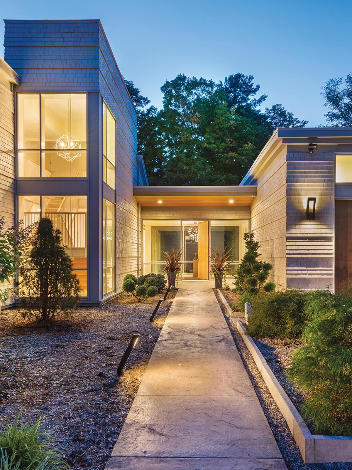modern mansion berkshires lenox 10