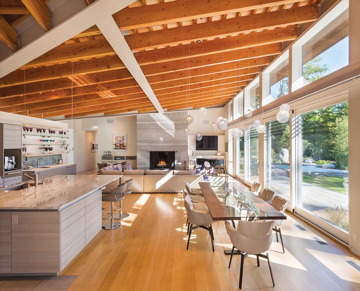 modern mansion berkshires lenox 12