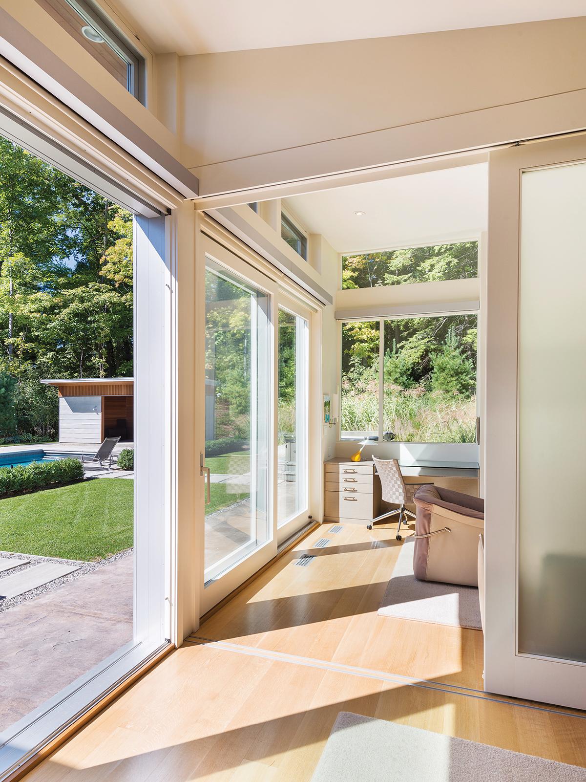modern mansion berkshires lenox 16