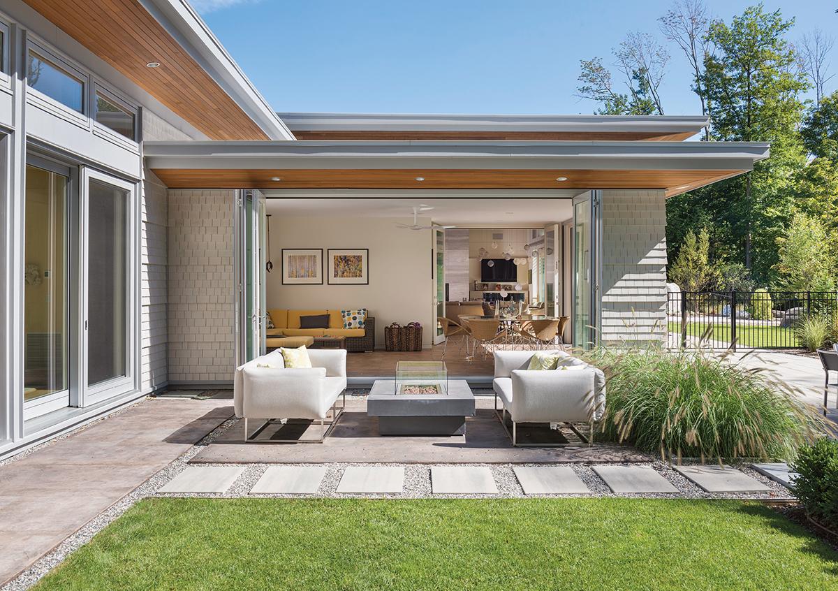modern mansion berkshires lenox 2