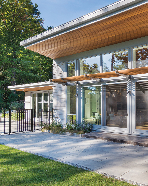 modern mansion berkshires lenox 4