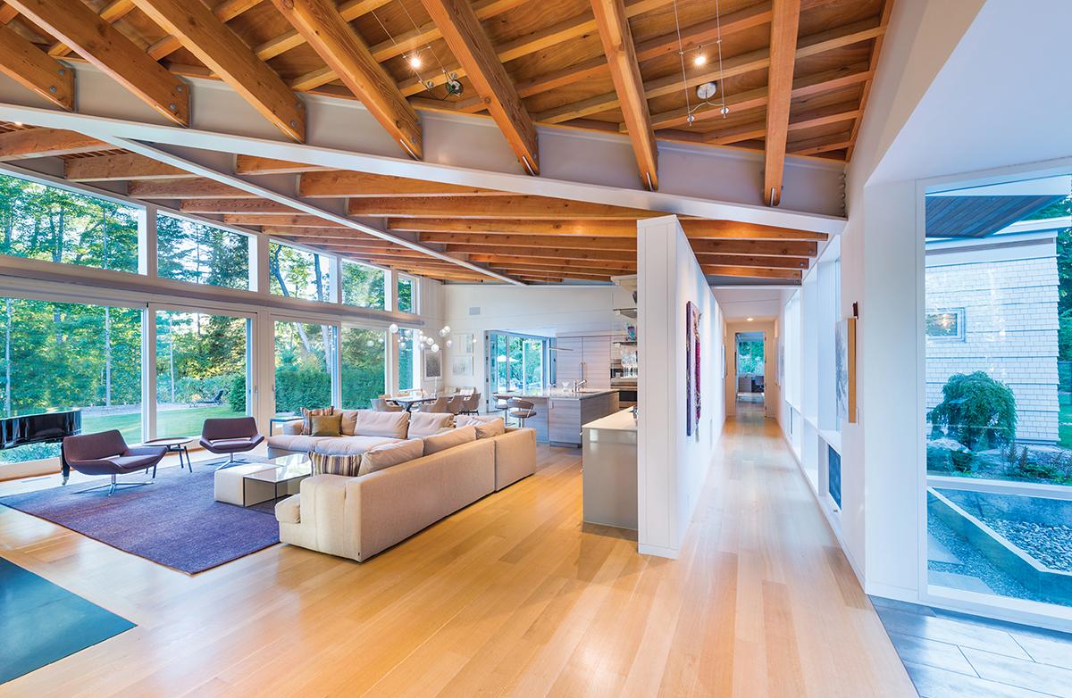 modern mansion berkshires lenox 6