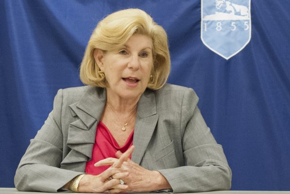 Nina Totenberg, National Public Radio. DSS guest Tuesday, Oct. 23, 2012.