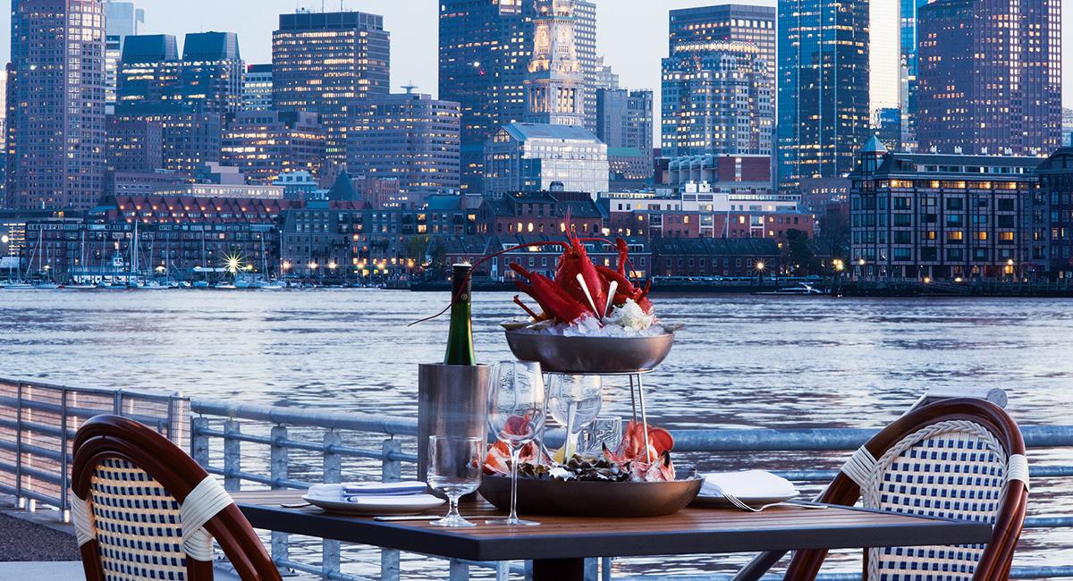 at reelhouse a view to dine for boston magazine