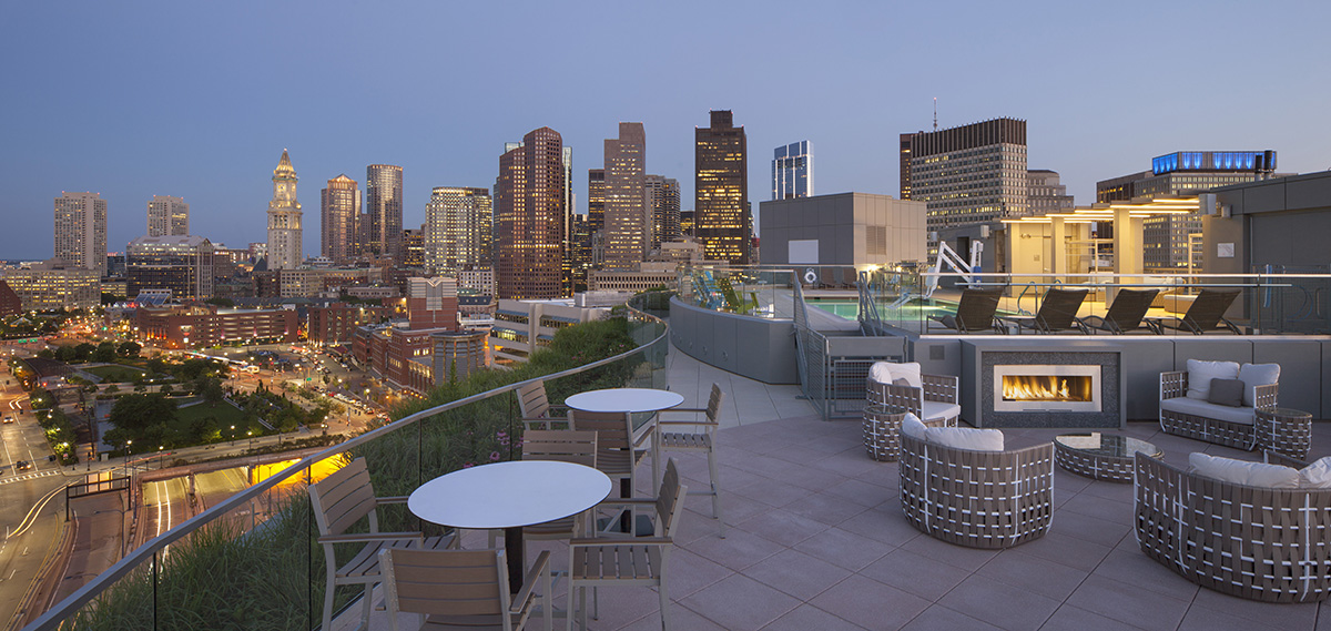 small homes with roof deck residential buildings in boston with amazing roof decks