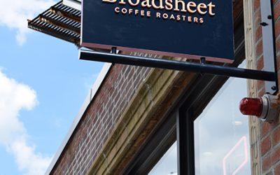 Broadsheet Coffee Roasters opens in July in Cambridge