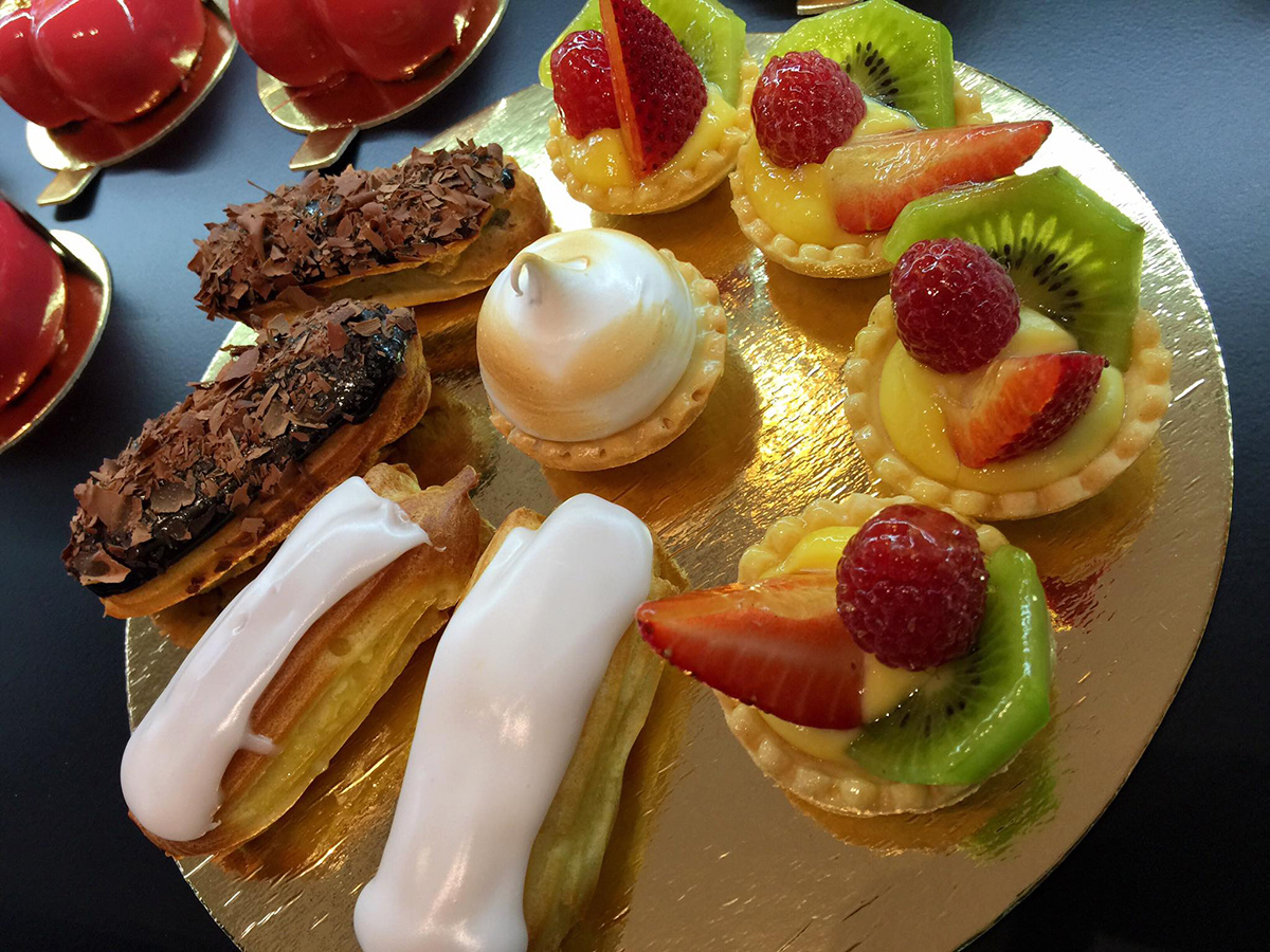 Eclairs, tarts, and more from Caramel French Patisserie in Salem