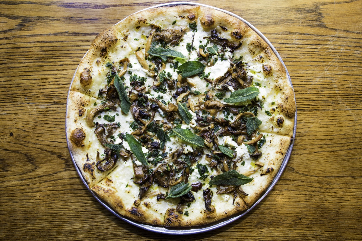 """""""Wine-infused"""" pizza will be on the menu at City Winery."""