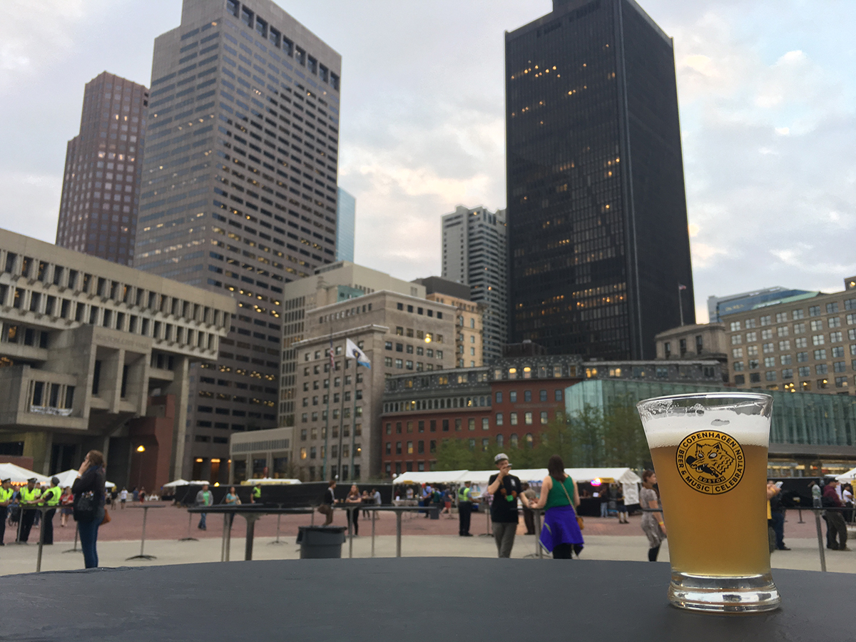 Hill Farmstead was among the participating breweries at the 2016 Copenhagen Beer Festival in Boston