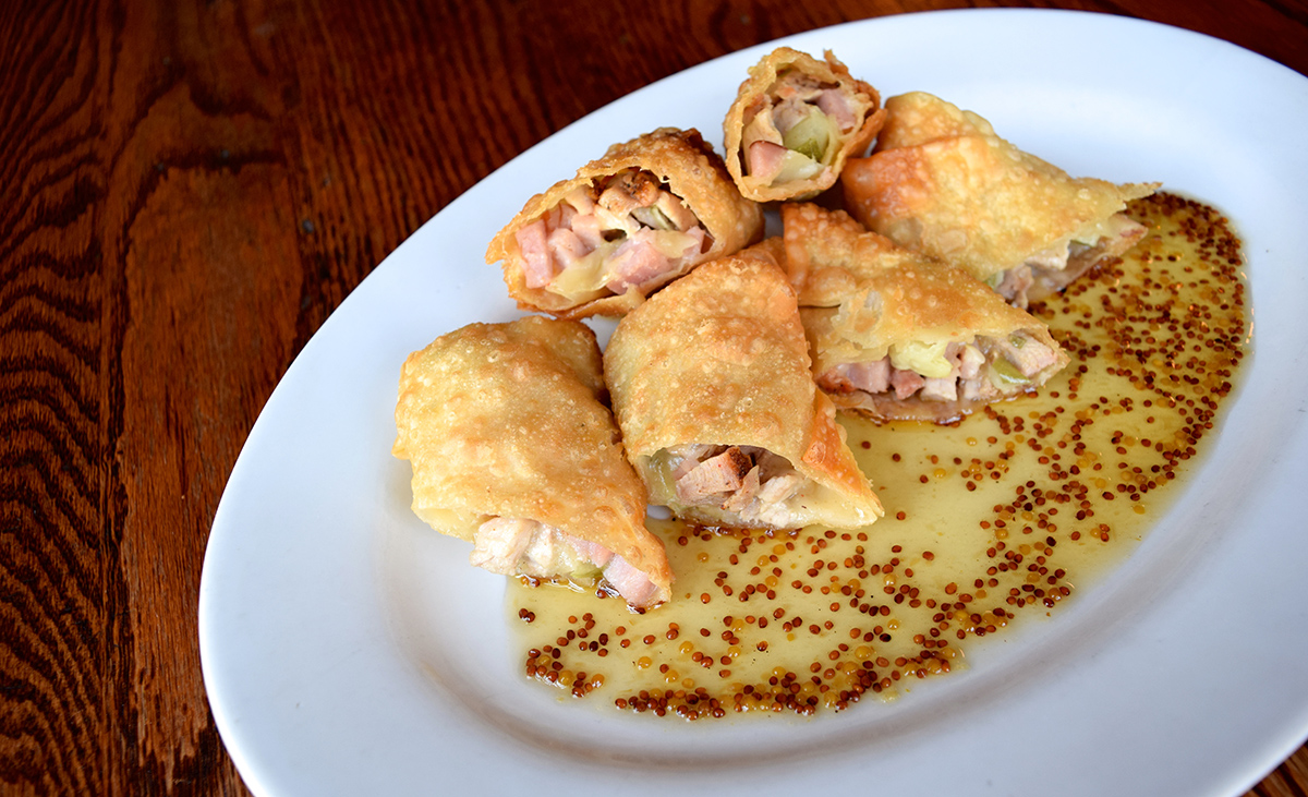 Cuban Spring Rolls at Cunard Tavern