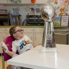 Patriots Trophy Tour MGH