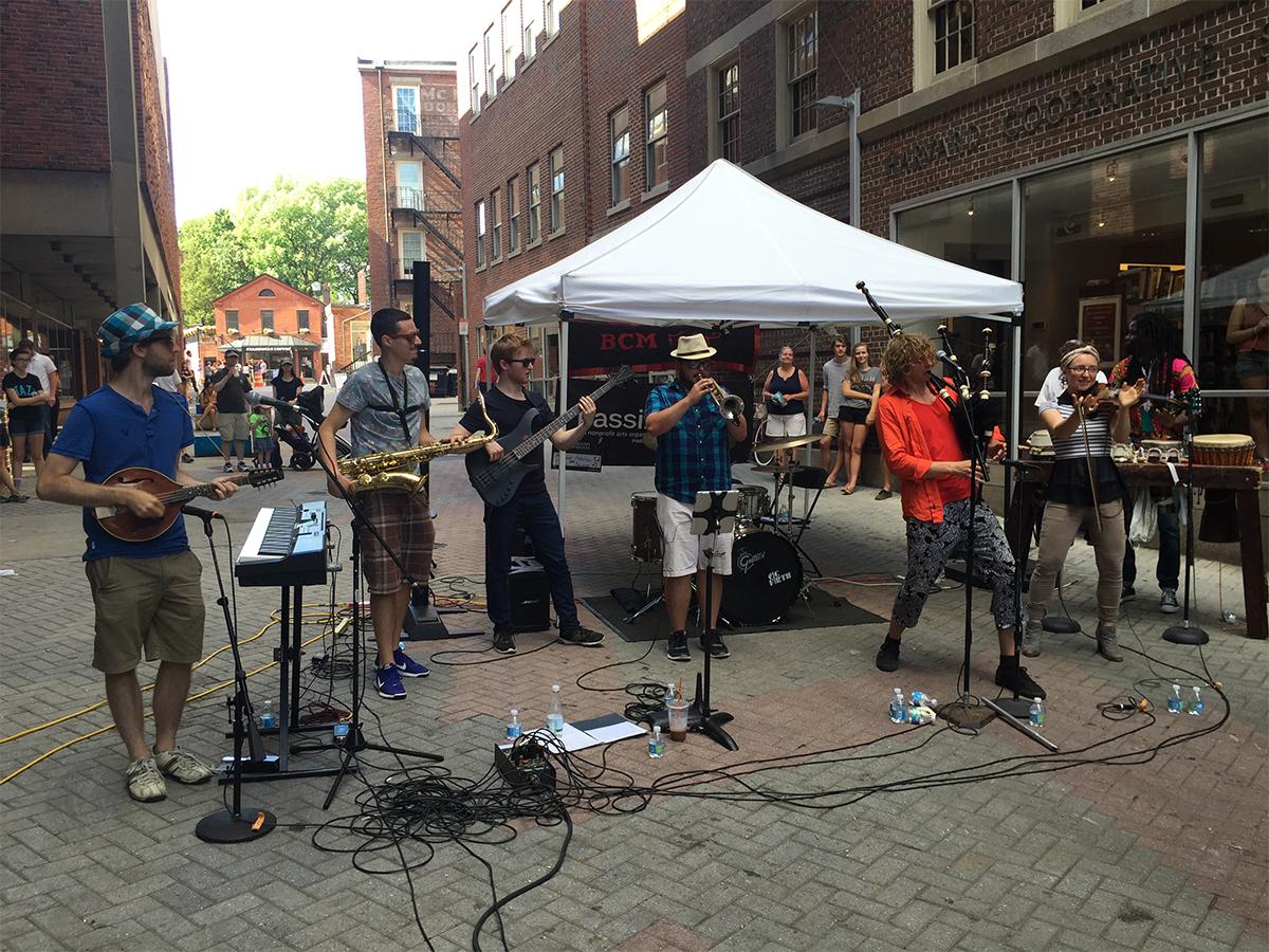 Boston summer celtic music festival