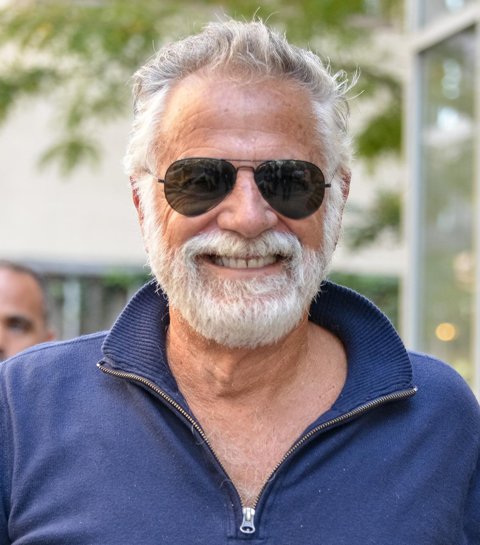 Jonathan Goldsmith on September 12, 2014 in New York City