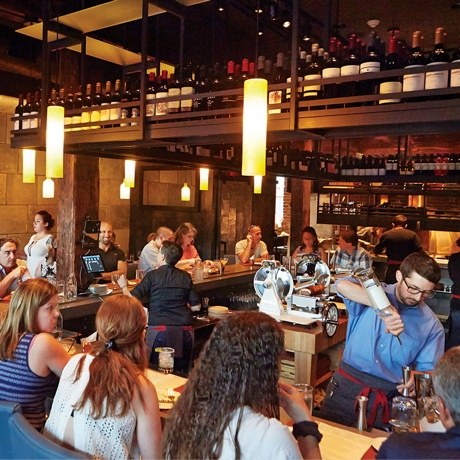 Photo by Nina Gallant for Restaurant Review: The Backroom at Moody's