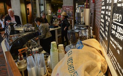 Recreo Coffee at City Hall