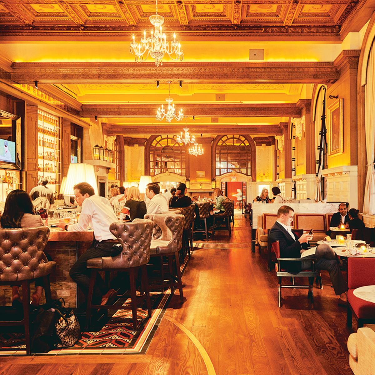 oak long bar + kitchen – boston magazine
