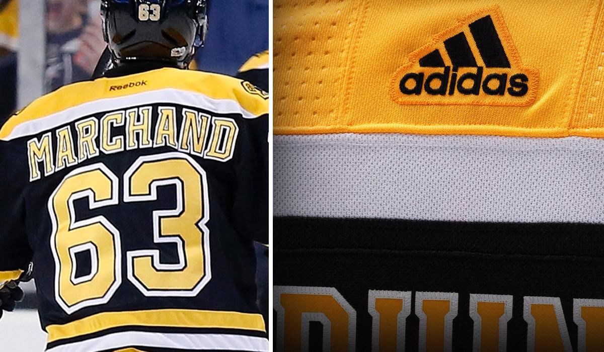 Boston Bruins Uniform 6
