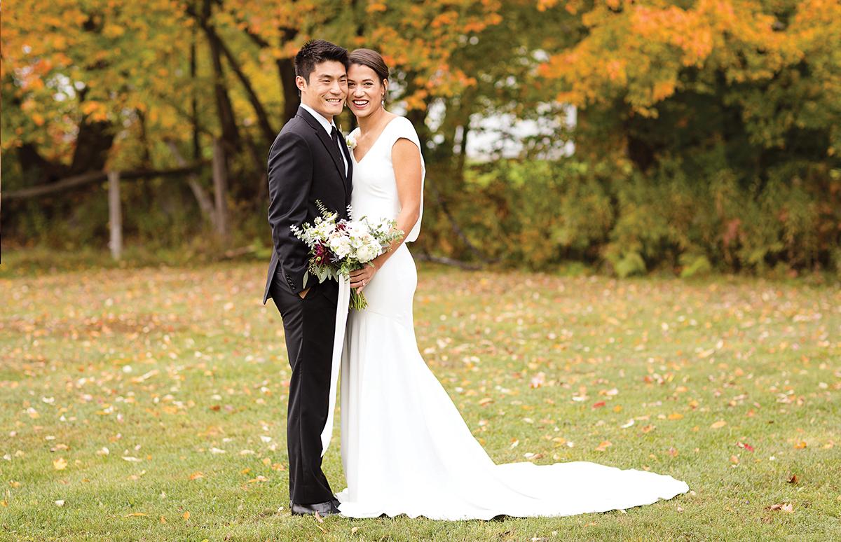 Real Weddings Boston: Real Wedding: James Wang & Danny Rainer