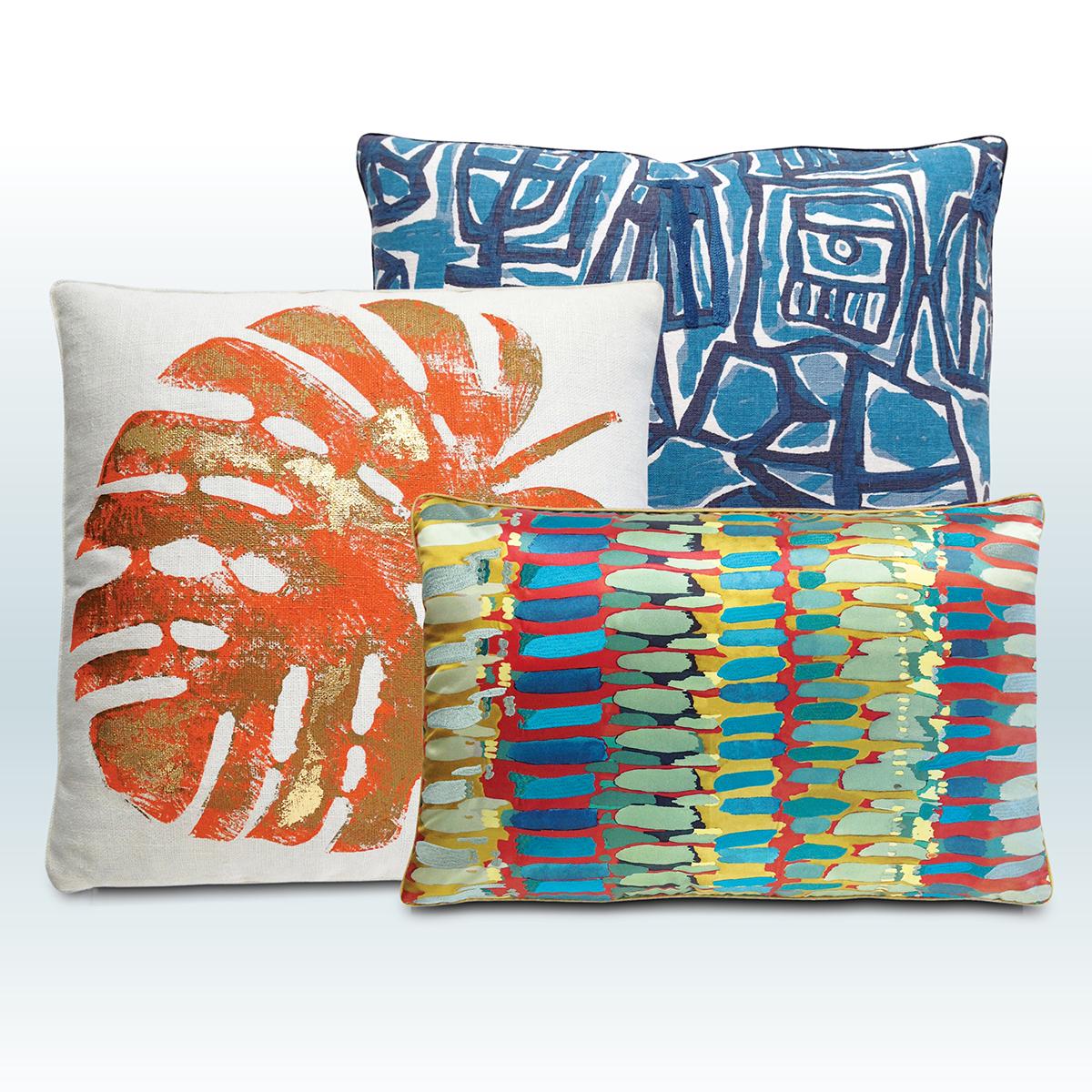 modern relik pillows