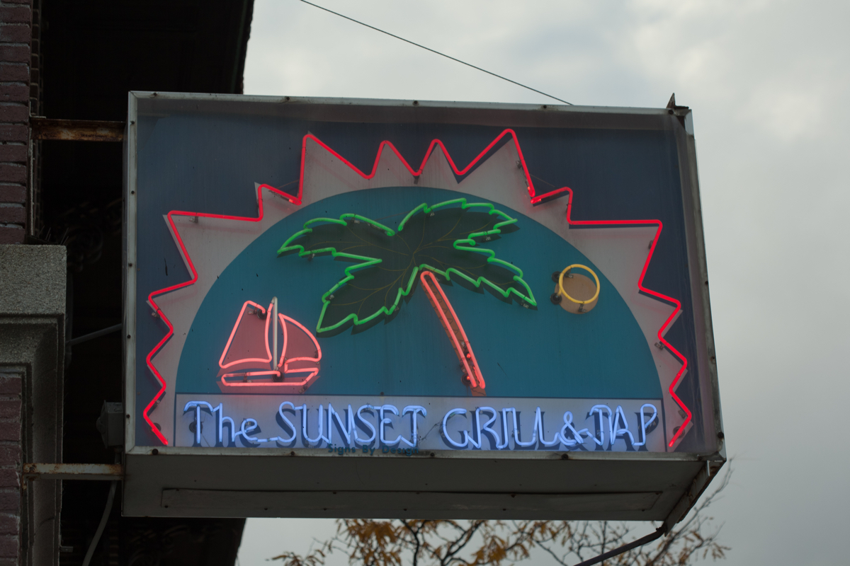 sunset grill bankrupcty