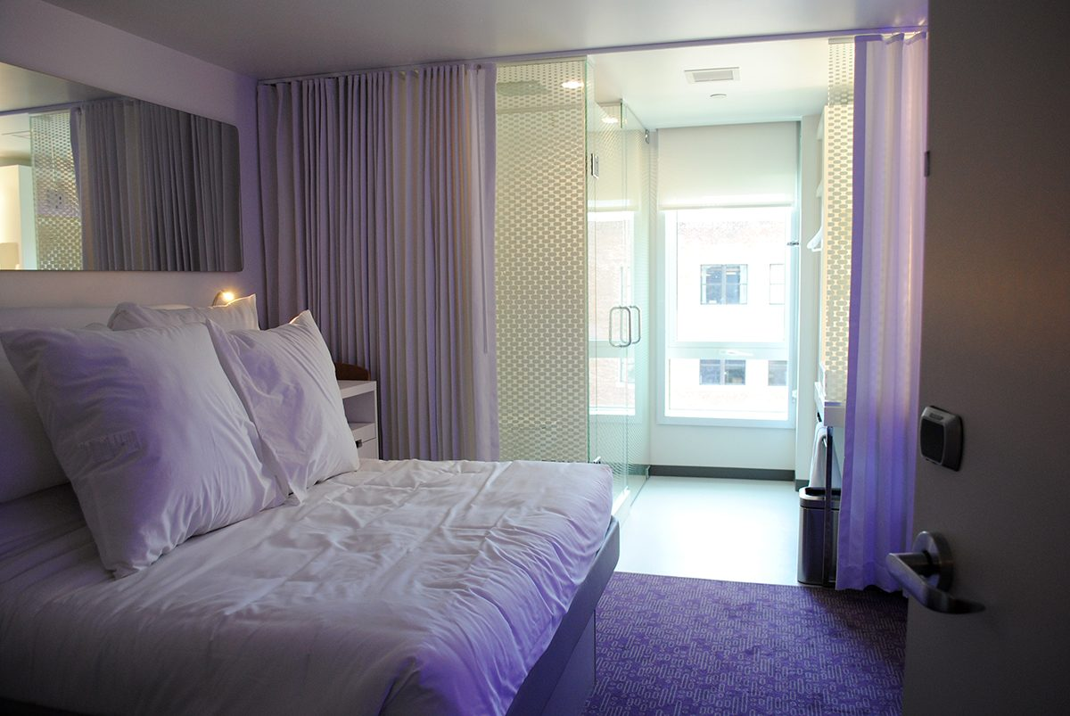Here S A First Look Inside The Tiny Rooms At Yotel