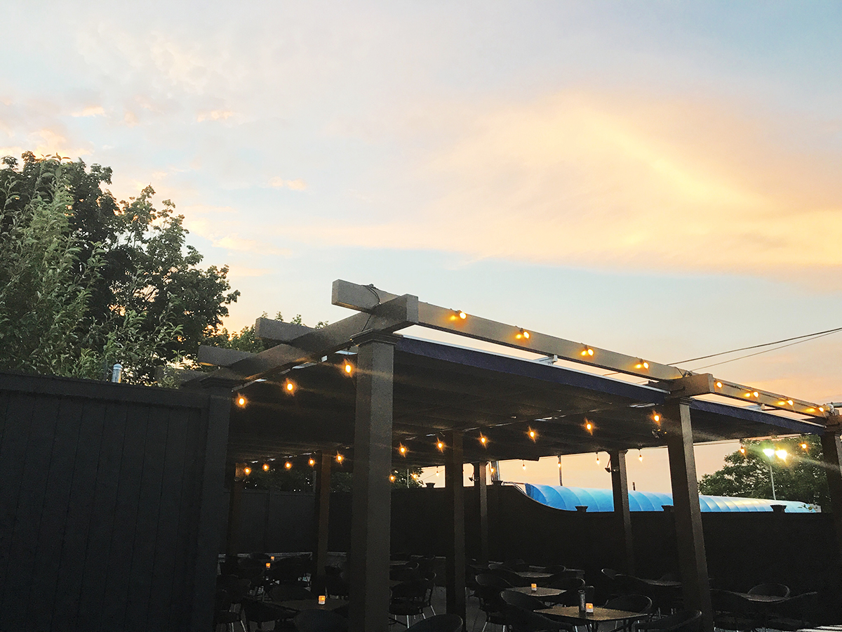 The Patio Behind Luluu0027s In Allston Opens This Summer