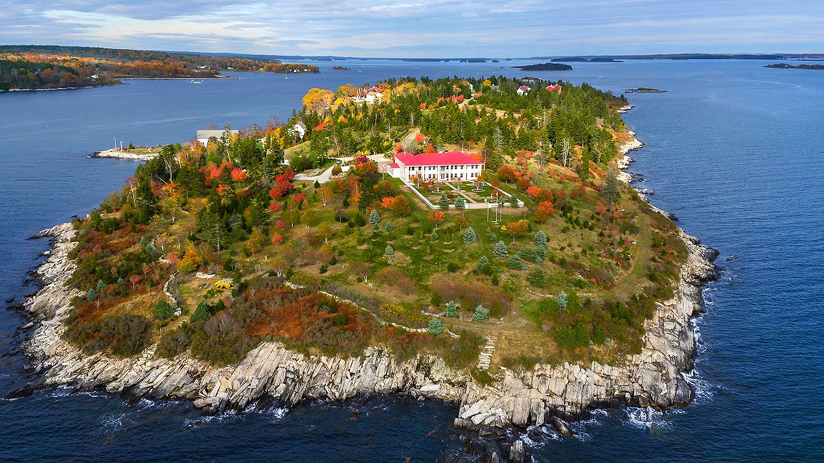 There S An Entire Island For Sale Off The Coast Of Maine