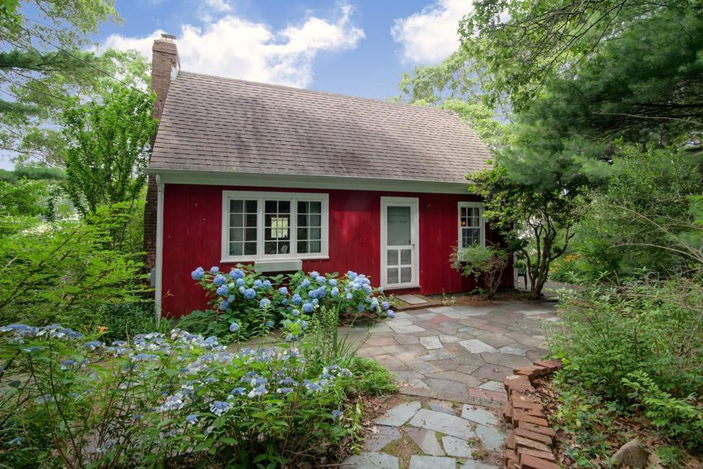 On The Market A Rustic Red Cottage In Falmouth