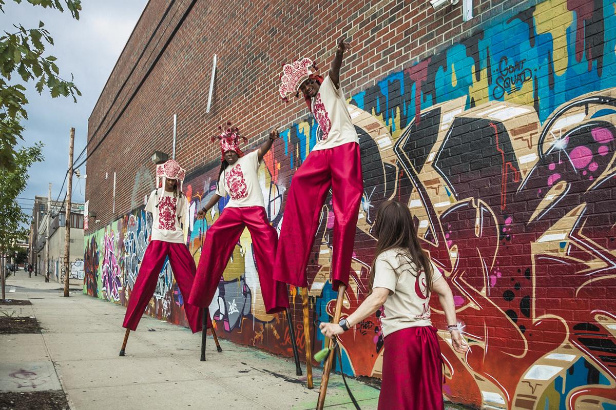 stilt dancers gardner museum