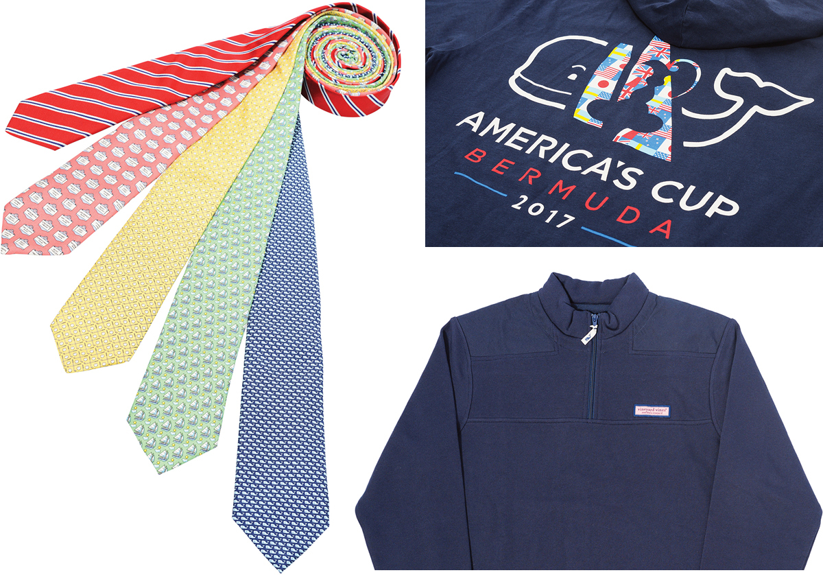 Beyond The Whale: Clockwise From Left, Vineyard Vines Ties In A Variety Of  Cheerful Patterns; Thepany Creates Custom Clothing Collections For
