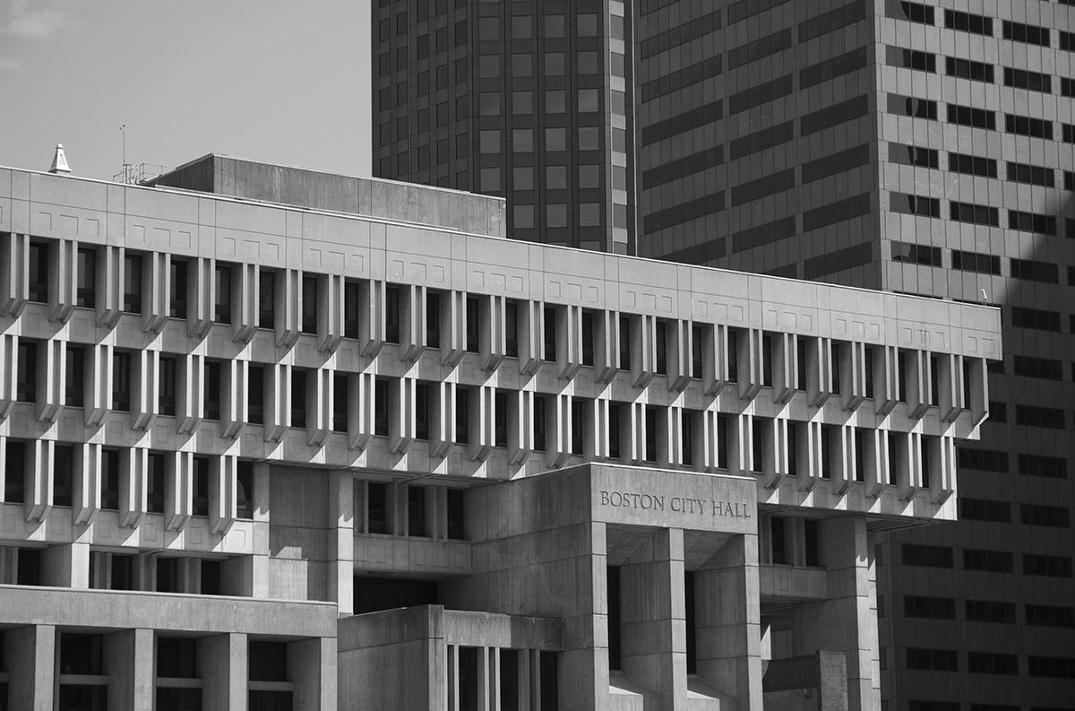 city hall boston brutalism