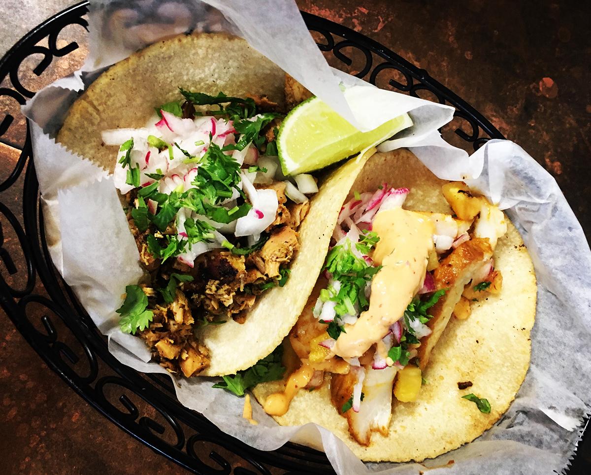 Tacos at Chilacates