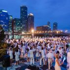 Dîner en Blanc-Boston