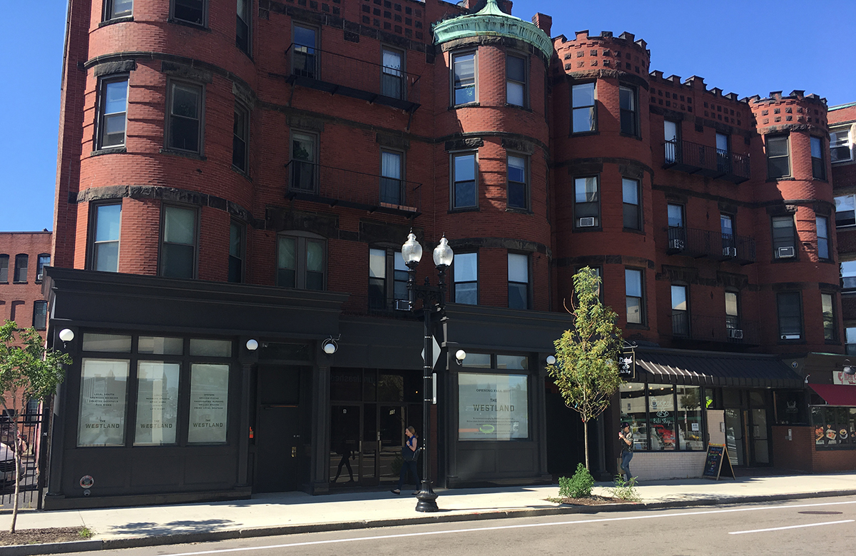 The Westland is opening at 10 Westland Ave. in Boston