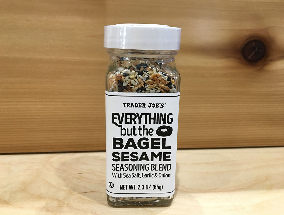 All Trader Joe's locations sell an everything seasoning blend