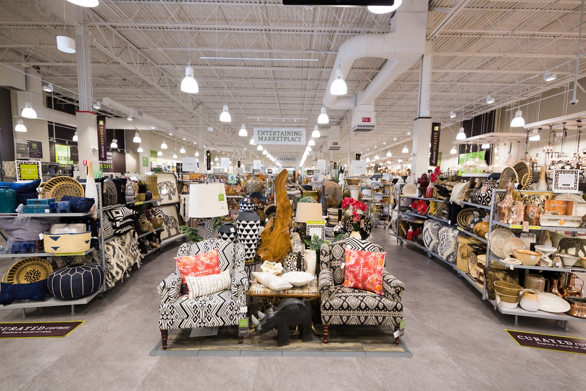 Maxxinistas can now shop for furniture at homesense for Home interior products