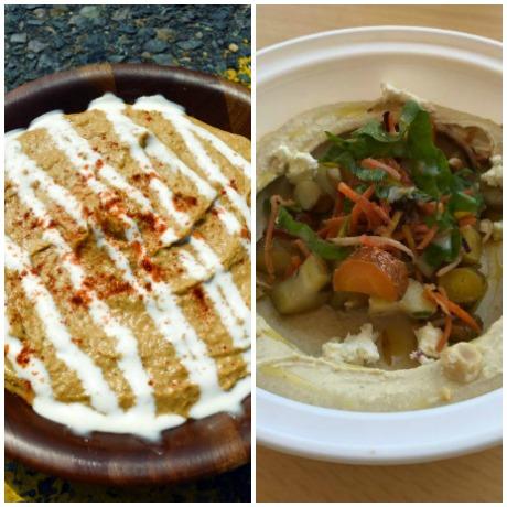 Chicken and Rice Guys / Clover hummus