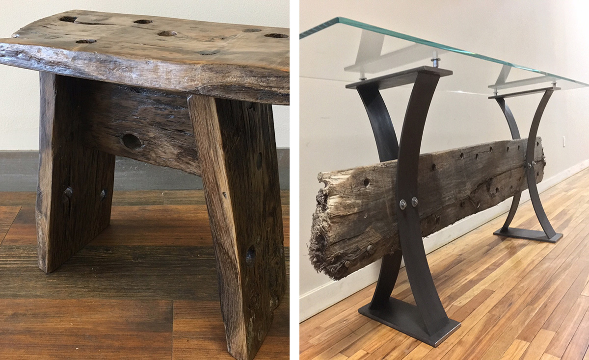 You Can Buy Furniture Made from the Seaport Shipwreck