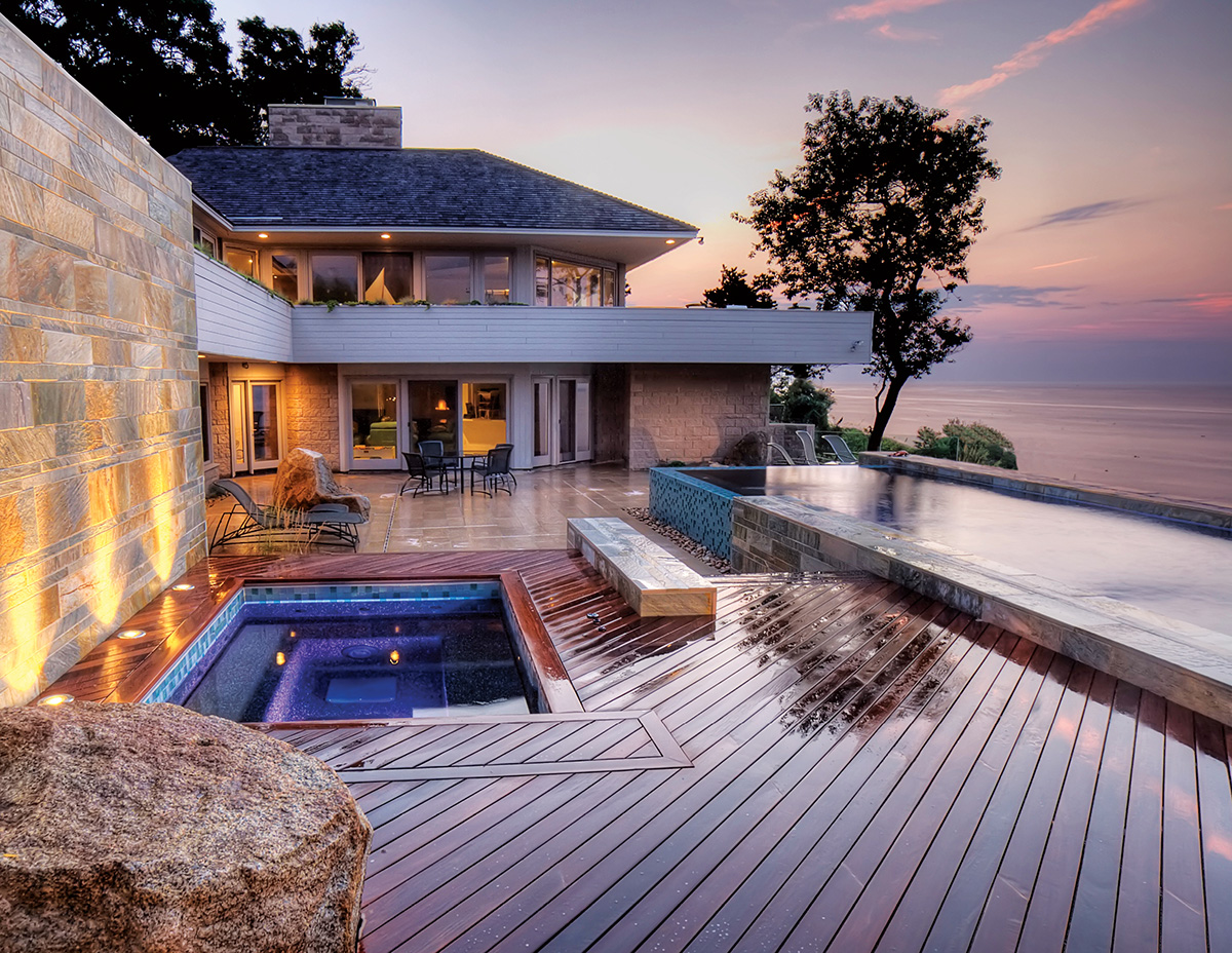 Patio That Turns Into Pool See How Zen Associates Transformed This ...
