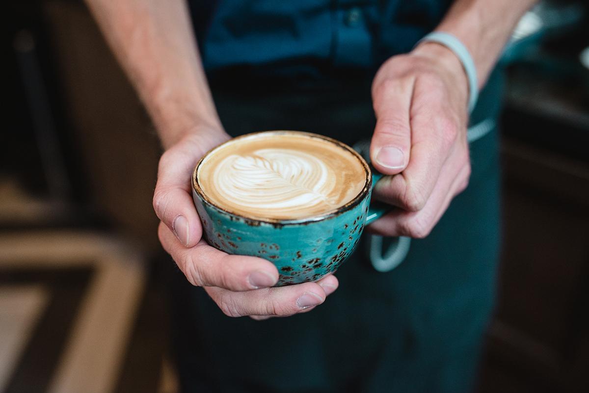 Latte art at Branch Line