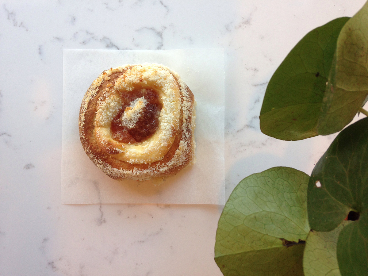 Baker Daisy Chow makes kolaches (pictured) and more as Breadboard Bakery, which pops up at Cutty's and Clear Flour Bread this month